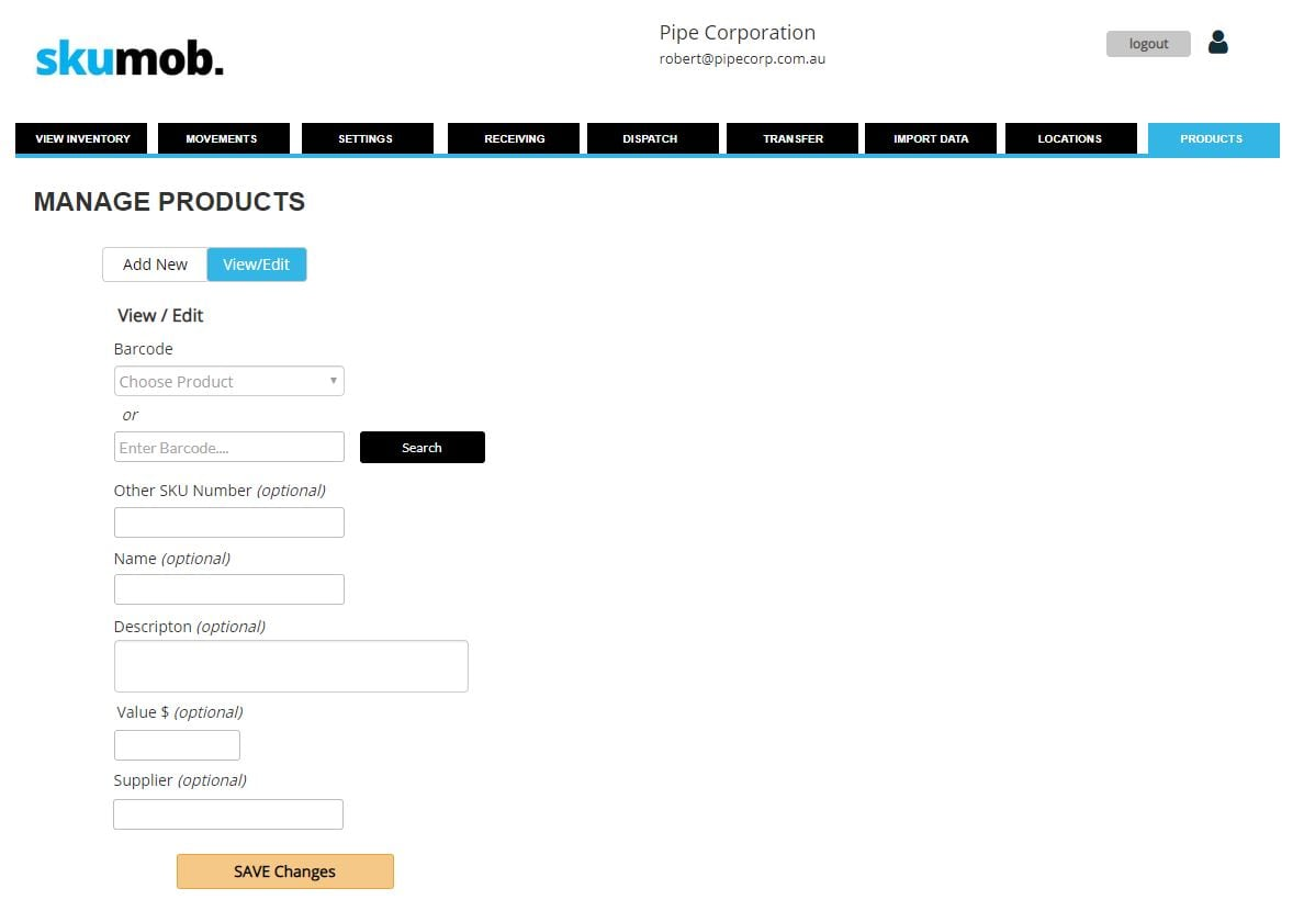 edit product screenshot 2